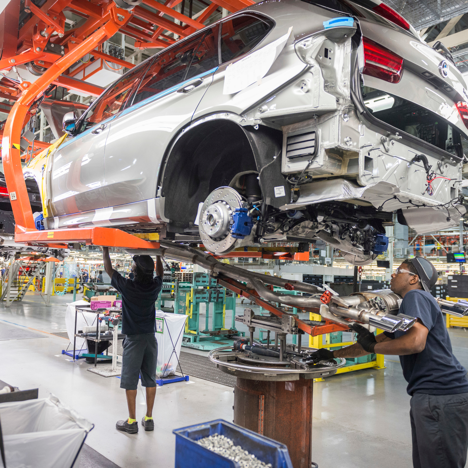 New Facility Planned At BMW Manufacturing Co