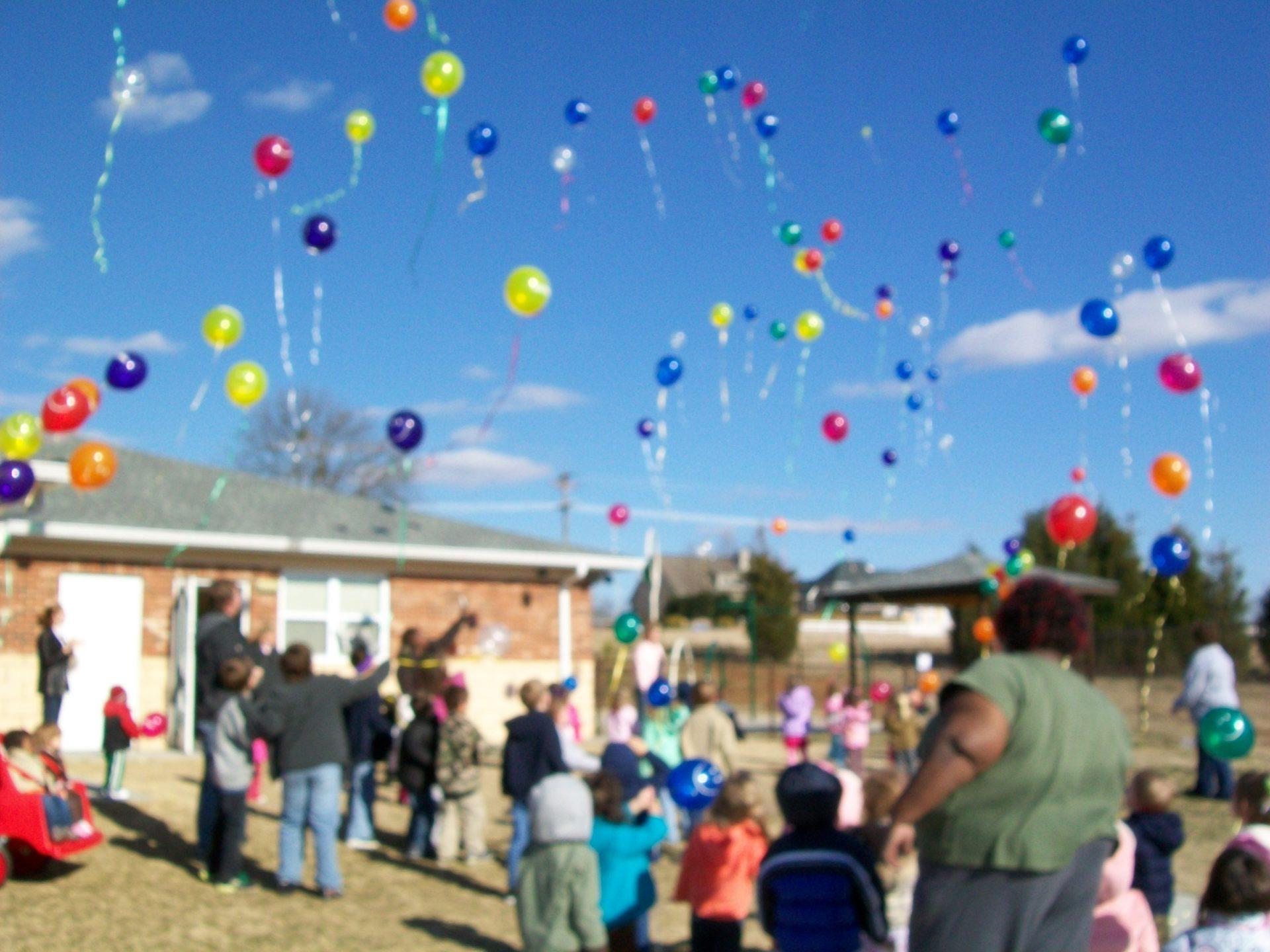Balloons at Kids R Kids Celebration