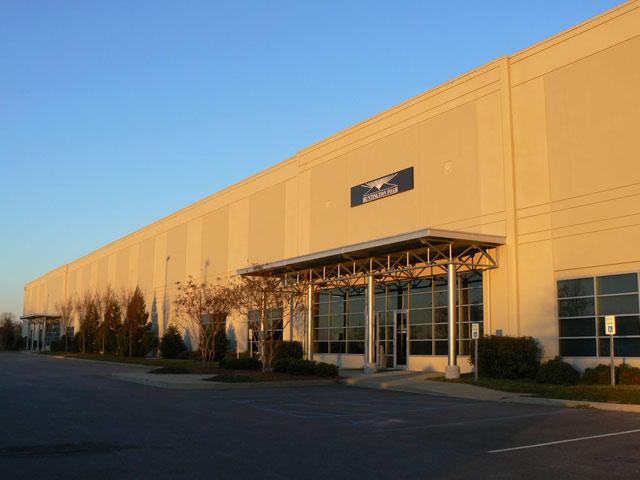 Huntington Foam Building in Greer