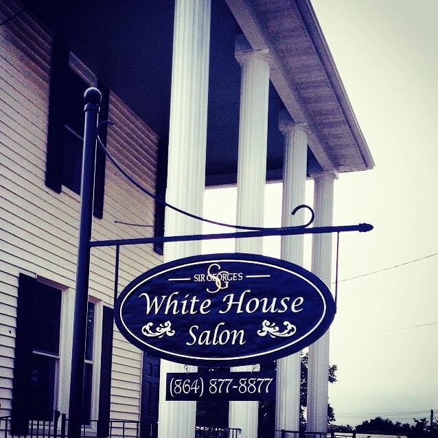 White House Salon sign
