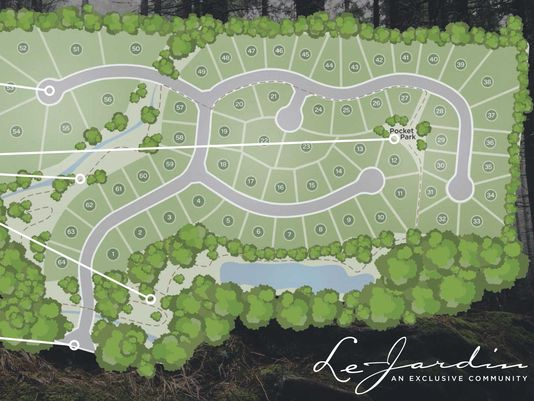 Serenity Rediscovered...Stoneledge Properties Breaks Ground at Le Jardin