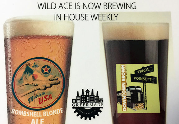 Wild Ace GreerMade beer