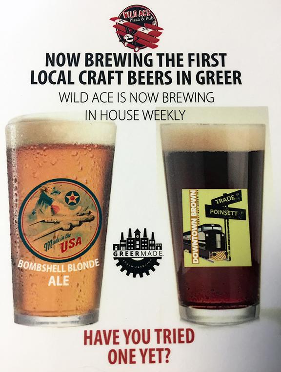 Wild Ace GreerMade beer