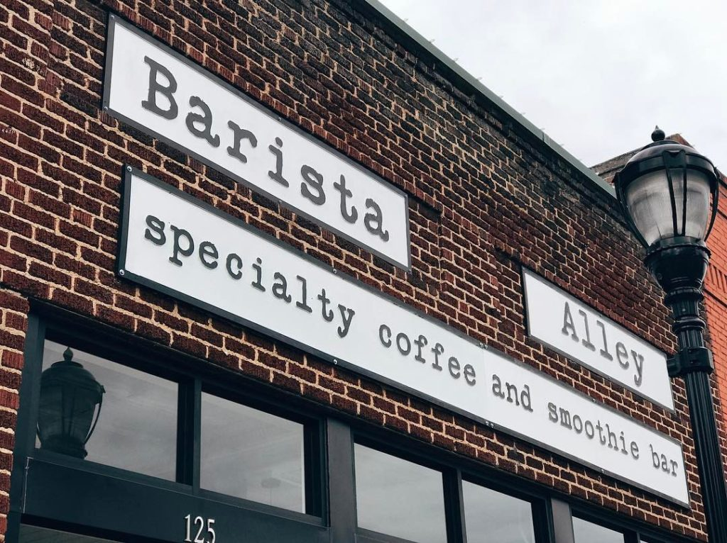 Barista Alley Opens in Greer Station