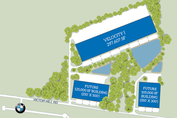 velocity industrial park rendering in greer