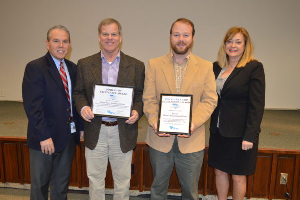greer cpw winning water quality award