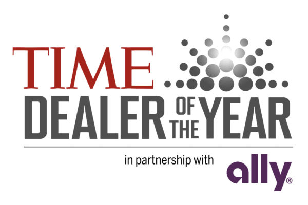 Time Dealer of the year award logo