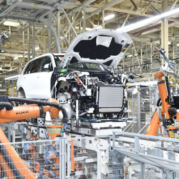 BMW X7 manufacturing process