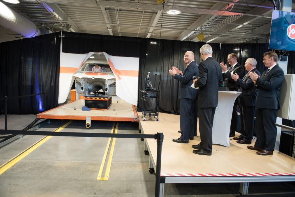 Clemson vehicle assembly center in Greer