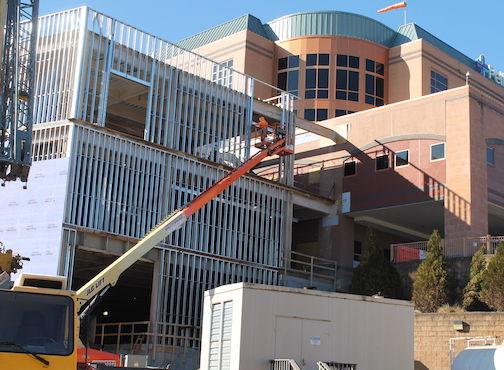 Pelham Medical center under construction