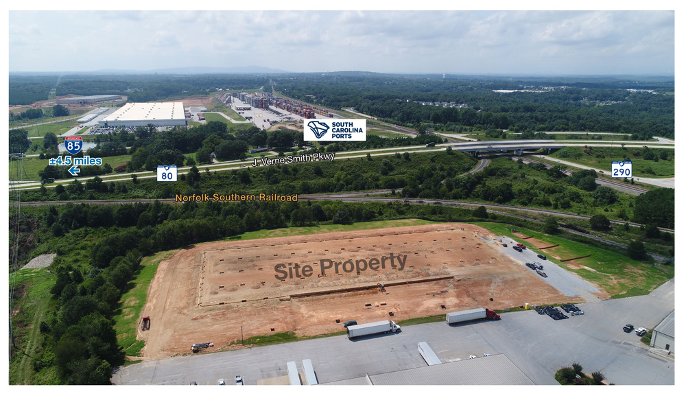 564 Gilliam Road, Greer, South Carolina, United States 29651, ,Industrial,For Lease,Gilliam Road,1073